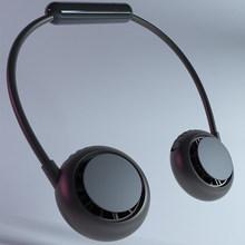 Новый подвесной вентилятор для шеи 2020, новый продукт, USB вентилятор охлаждения, мини маленький электрический вентилятор, портативный вентил...(Китай)