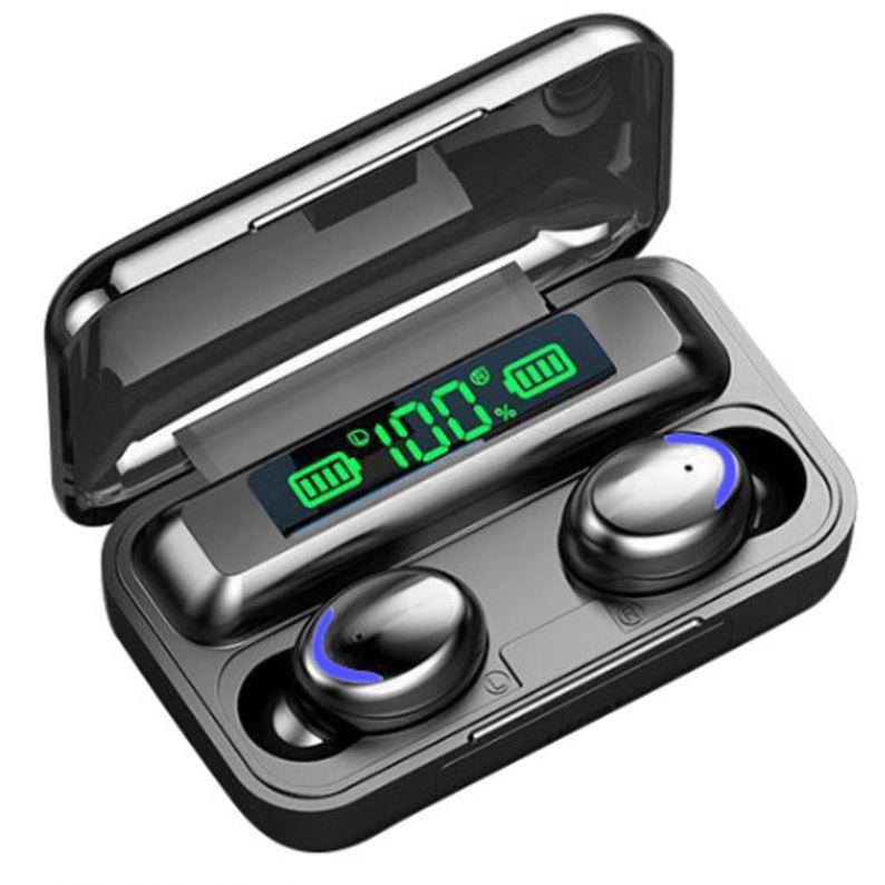 F9-5C Blue Tooth Earbuds With Charging Case Mini <strong>In</strong>-<strong>Ear</strong> <strong>In</strong> <strong>Ear</strong> Waterproof <strong>Wireless</strong> <strong>Earphones</strong> Headset <strong>Earphone</strong>