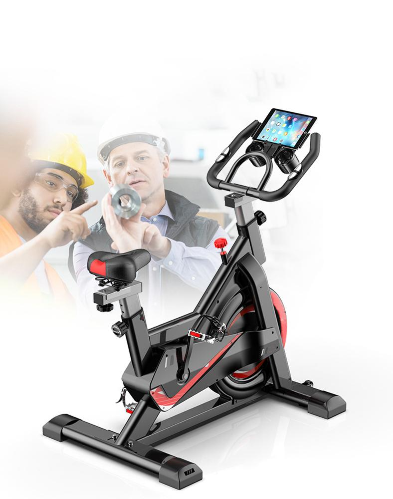 Upgraded Spining Bike exercise Home Fitness Equipment Indoor Silent Bicycle,Basic Sports Bike
