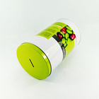 120*200MM large tall round dri fruit / tea / seeds packing tin can
