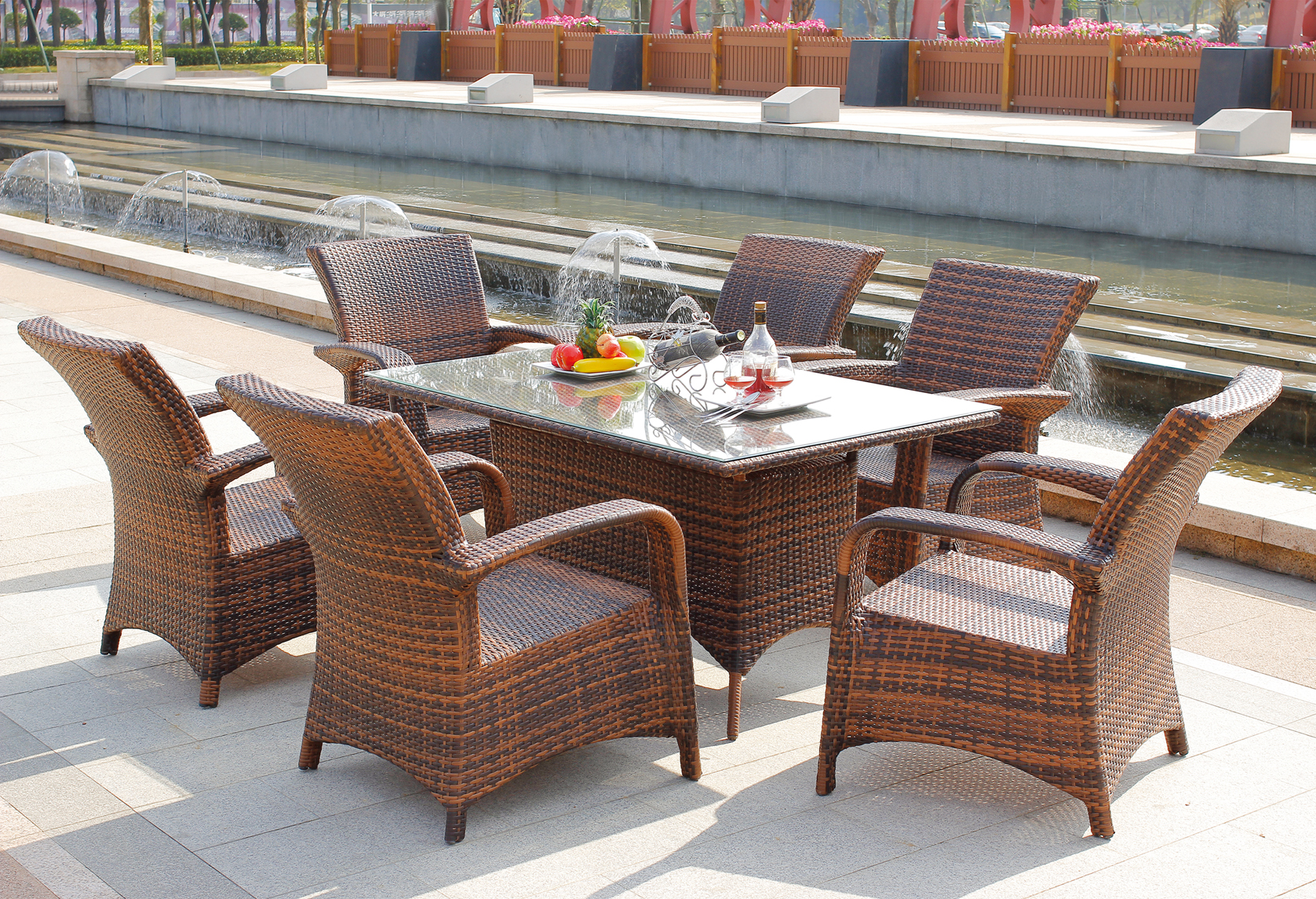 Outdoor Furniture Rattan Furniture Rattan Table And Chair Garden Set Buy Rattan Furniture Rattan Table Chair Rattan Dinning Set Product On Alibaba Com