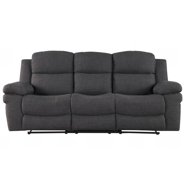 คลาสสิกอเมริกันสไตล์ด้วยตนเอง 3 ที่นั่งกาแฟตารางผ้า recliner โซฟาห้องนั่งเล่น