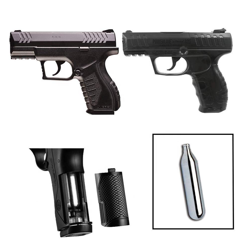 Mini Wiederaufladbare CO2 cartridges12g patronen für schießen