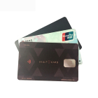 PVC plastic waterproof credit business Visa card