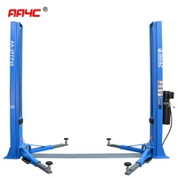 8 fold profile column 4.5T dual points manual release hydraulic 2 post car lift