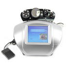 new product RU+6 portable Ultrasonic Cavitation Machine Vacuum Tripolar RF Laser Slimming machine