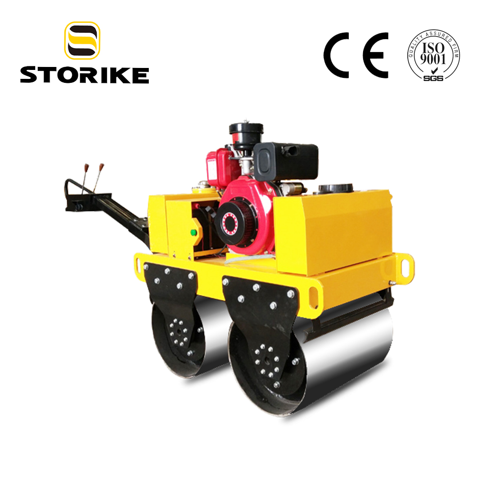 Walk Behind Diesel Type Small Pitch Compactor Road Roller Not Bomag