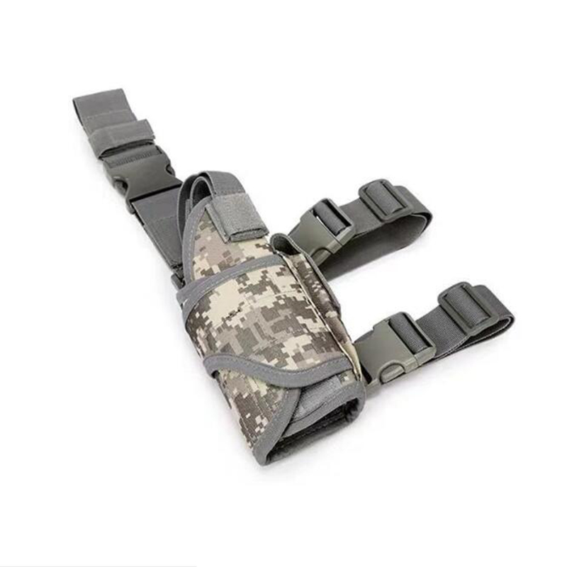 Adjustable Tactical Army Pistol Pouch Holder Gun Bag Drop Leg Holster