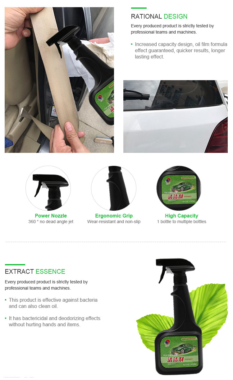 Belt Cleaner Solution Refurbishing Cleaner Multi-Functional Foam Cleaner For Home And Cars