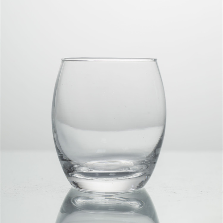 Wholesale high quality glass water cup drinking glass