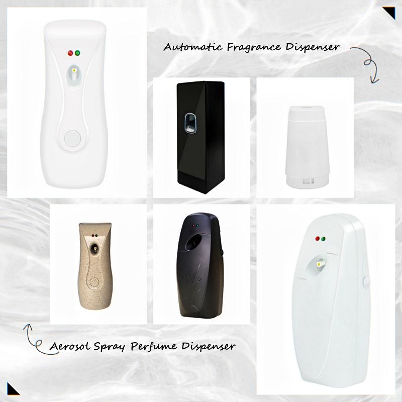 Casa automática aerosol inteligente dispensador ambientador de