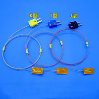 Temperature Thermocouple Surface Paste SMD Thermocouple K type T type J type THERMO-COUPLE WIRE Slice Temperature Sensor Probe