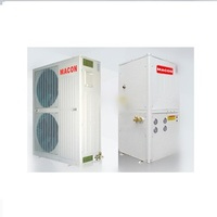 80 degree high temp air water split heat pump for cold area