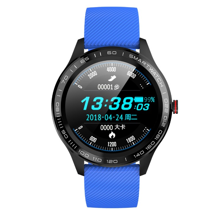 2019 Amazon HOT Round Touch Screen sport Waterproof smartwatch L9 Smart Watch With Pedometer Heart Rate Monitor