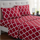 100% Polyester [ Polyester ] Sets Stock 100% Polyester Microfiber Bedding Set