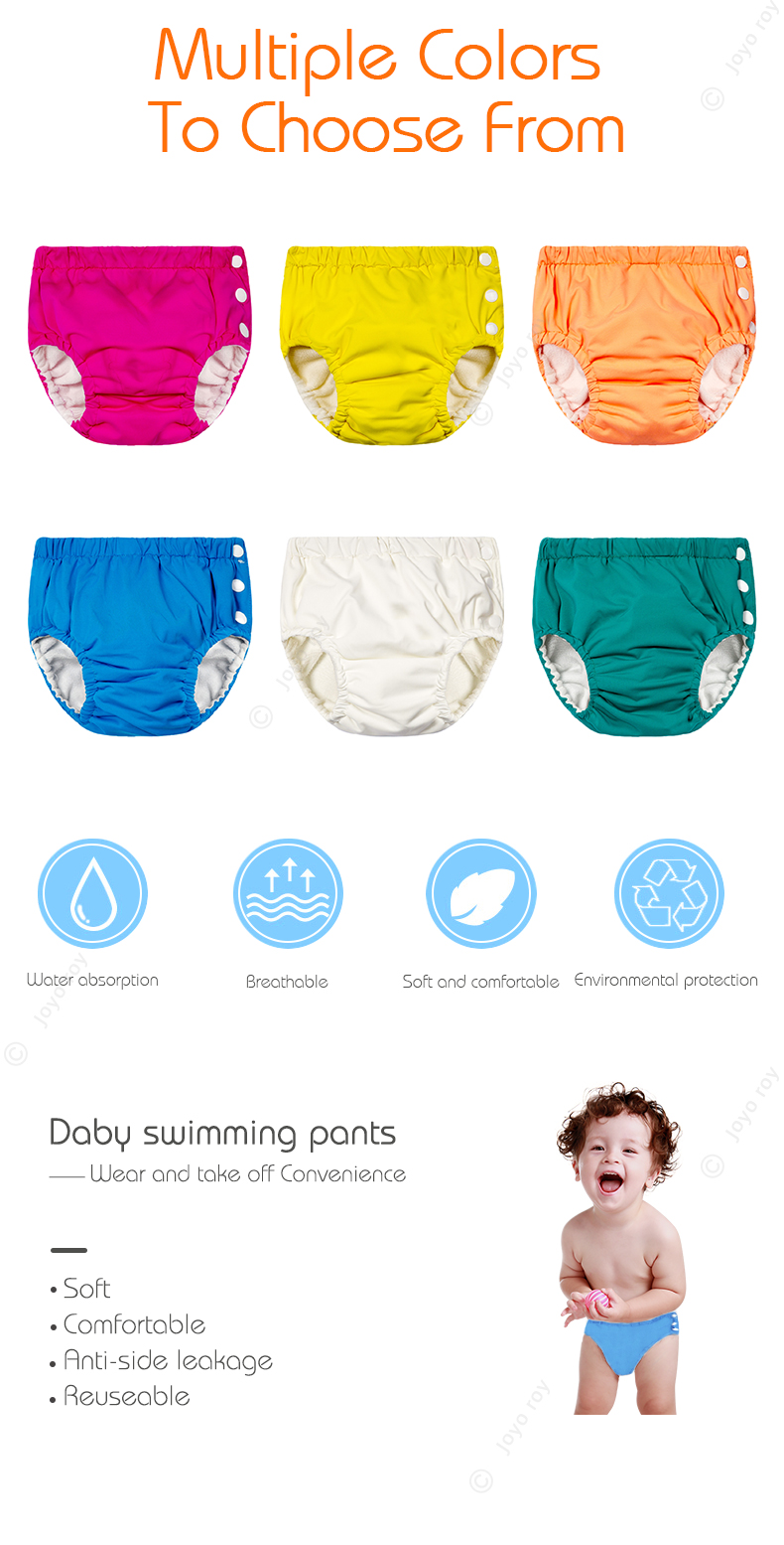 Swimming Diaper Reusable Swim Diaper Baby Swim Diaper