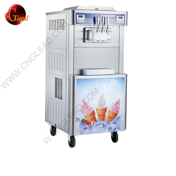 2019 Professional CE approval floor stand real fruit ice cream cake machine