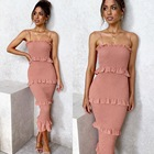 Customize Design Women Clothes Sexy Maxi Lace Dresses