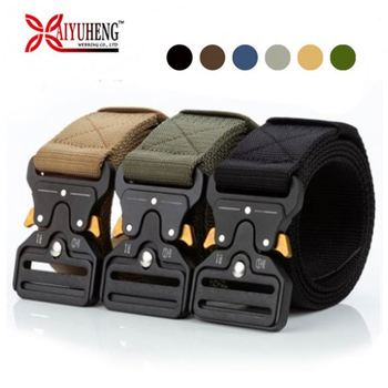 Baiyuheng High Quality Woven Fabric Belt Nylon Belts Tactical