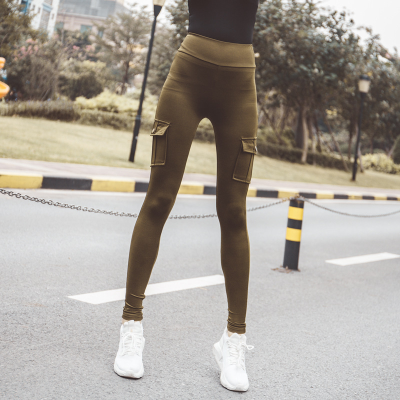 New design Yoga sport running stacked joggers ladies women sweat pants