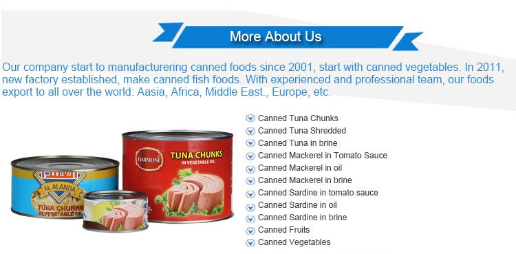 Conserve di tonno pesce produttori