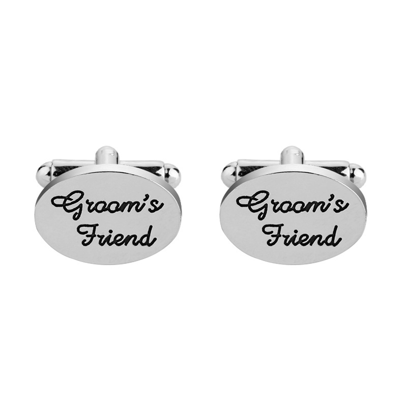 Hot sale wedding gifts for groom's friend fashion jewellery french cuff link <strong>custom</strong> <strong>cufflinks</strong> <strong>engrave</strong> mens <strong>cufflinks</strong>