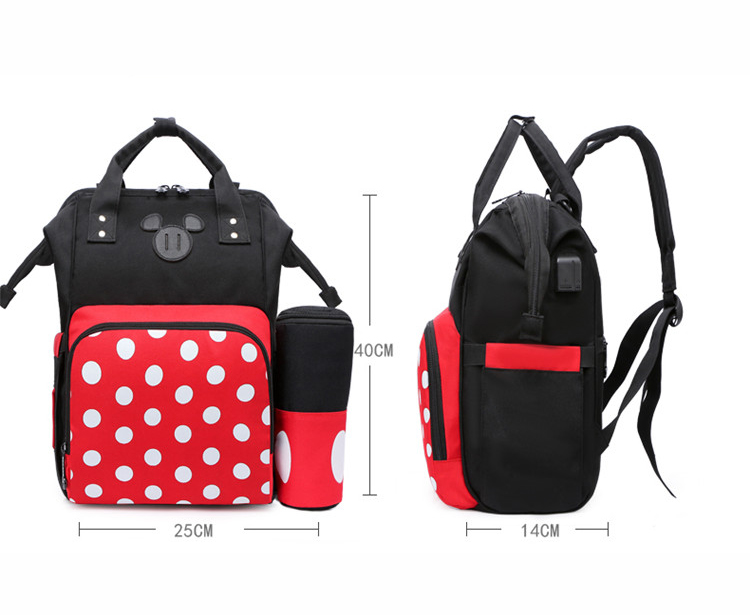 Wholesales Baby Diaper Changing Bag Set maternity Daddy Mommy Outdoor backpack for Women