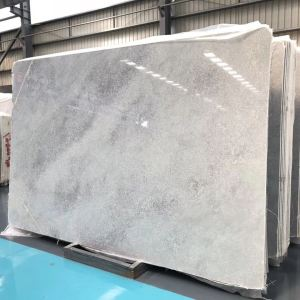 crystal grey marble slab with exclusive rights white marble wash basin for bathroom