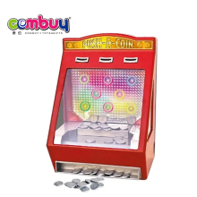 Battery Operated Toy Machine Kids Mini Coin Pusher Game