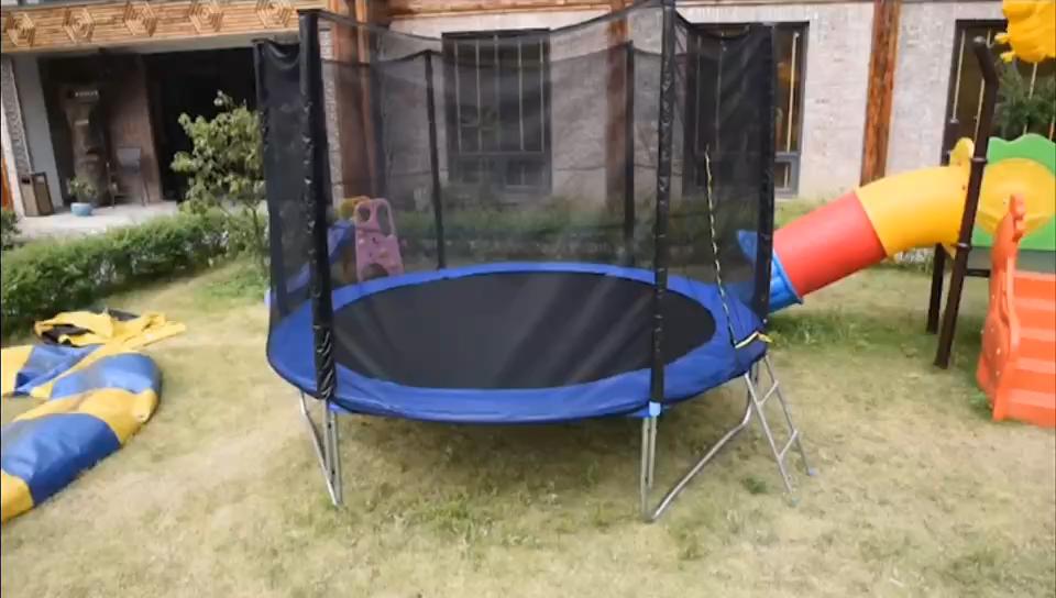 """Amazon Nóng Bán Mạ Kẽm Ống Nhảy Bài Tập Trampoline Trẻ Em Trampoline 55 """"Mini Trampoline//"""