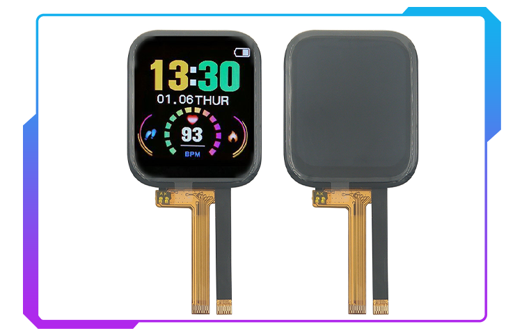 tft lcd module for smart watch
