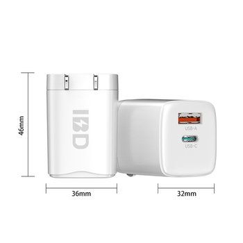 2020 newest gan 20w pd charger ipad adapter apple PD wall Charger For Iphone 12