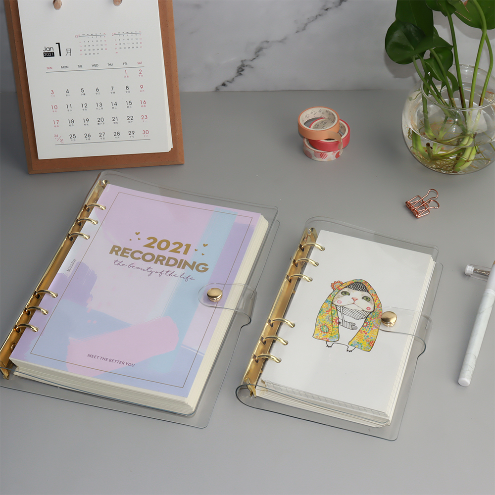 Spiral Bound Planners and Notebooks, 2021 Custom Planner