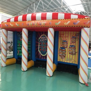 Hot Sale New Design 3 in 1 Inflatable Used Carnival Funny Game for Sale