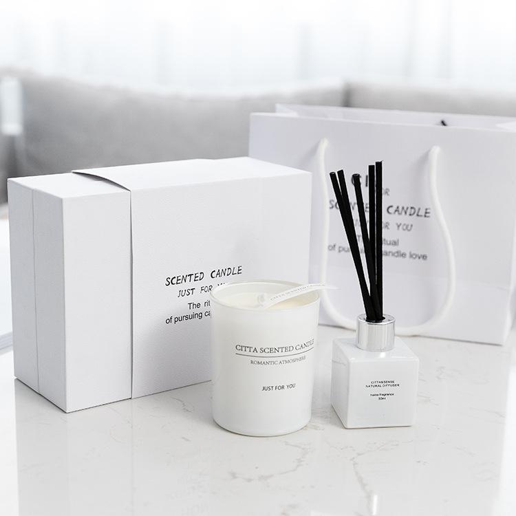 Mescente logo personalizzato fragranze per la casa di cristallo olio diffusore a lamella bastone con il fiore regalo set oem