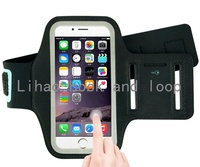Universal size adjustable mobile phone armband for running sport