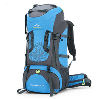 70L internal frame sports hiking rucksack