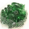 China manufacturer recycled green landscaping glass rocks crushed glass bulk for crafts