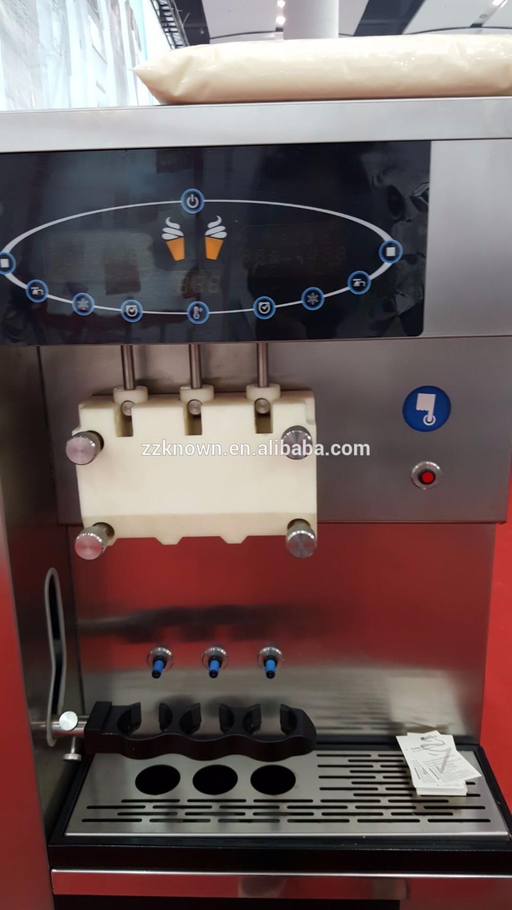Automatische gefrorenen joghurt automaten/eis anbieter mit GSM system