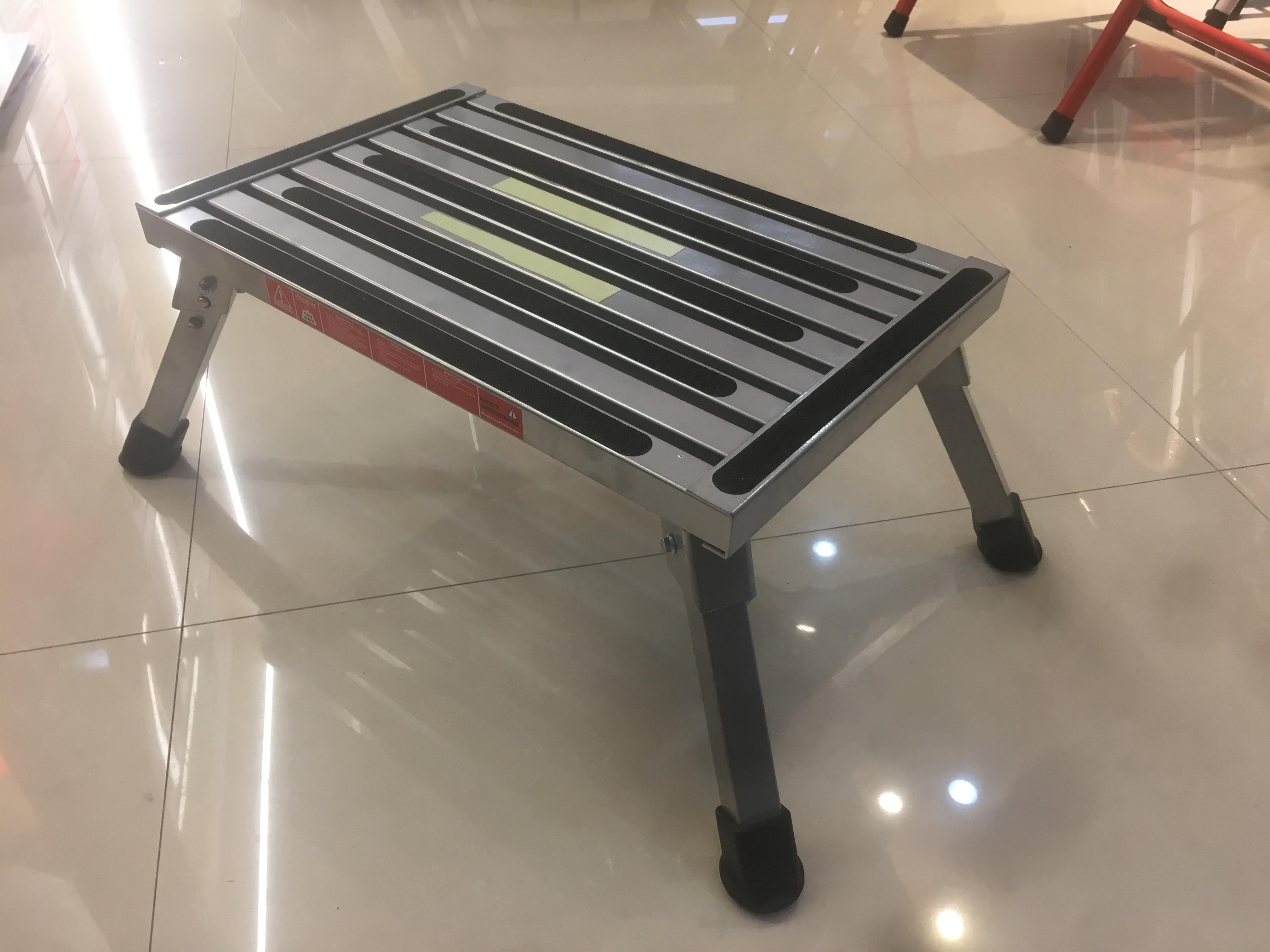 light weight folding stairs aluminum steps