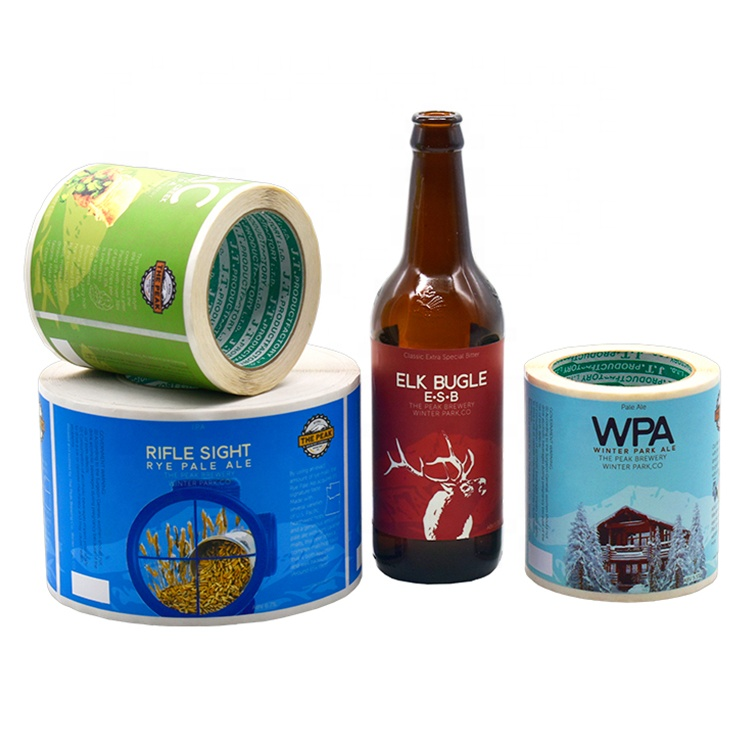 Custom Beer Label,100 Pieces, Cmyk color