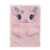 Wholesale kawaii anime diary pocket fluffy plush notebook