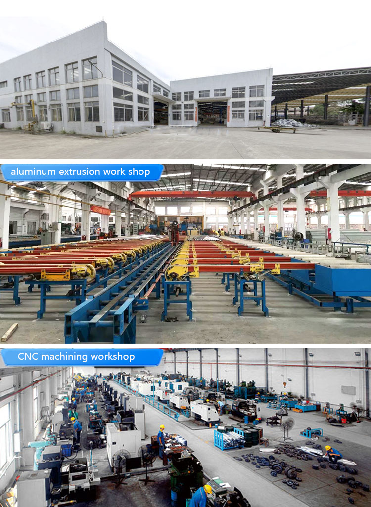 T-slot extrusion aluminum profile industrial 80x120 china