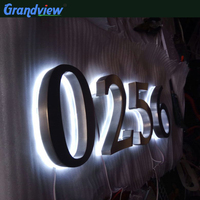 Best price cheap 3d metal chrome logo signs letters & numbers