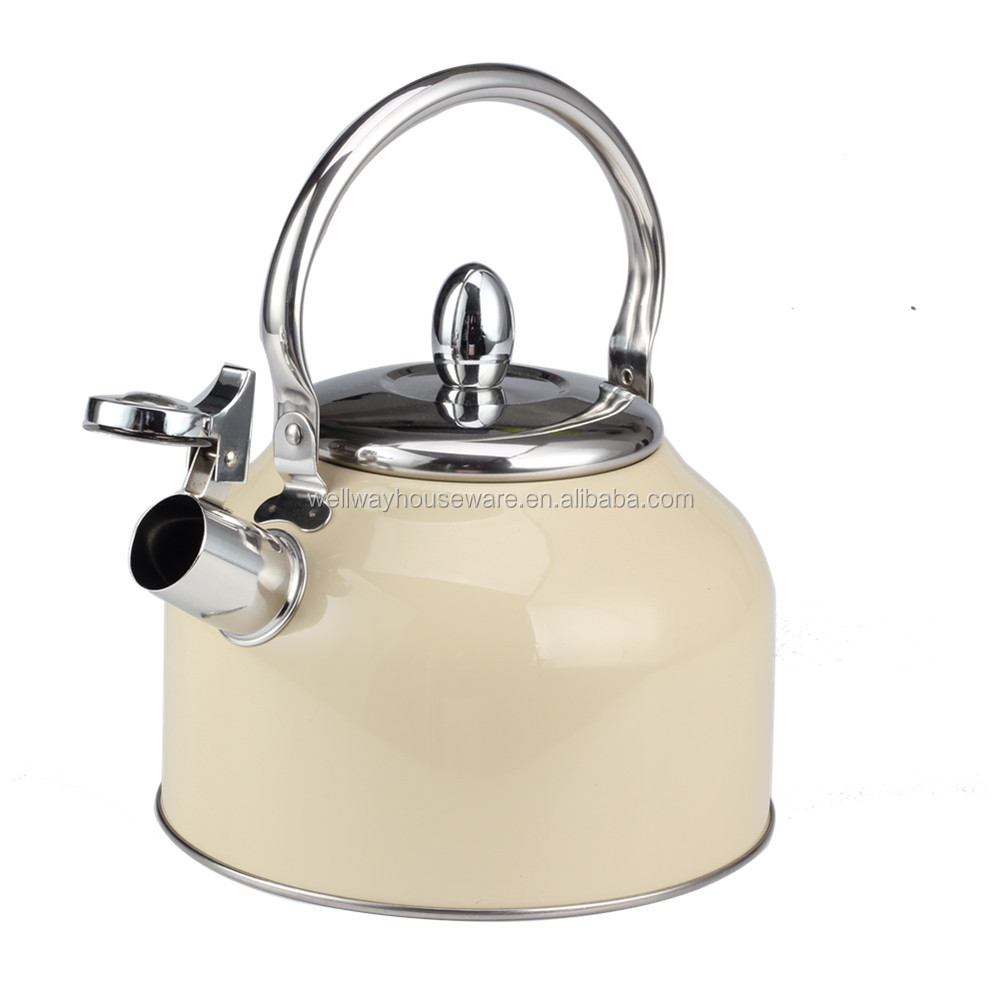 Food Grade Stainless Steel  Whistling Tea and Coffee Kettle