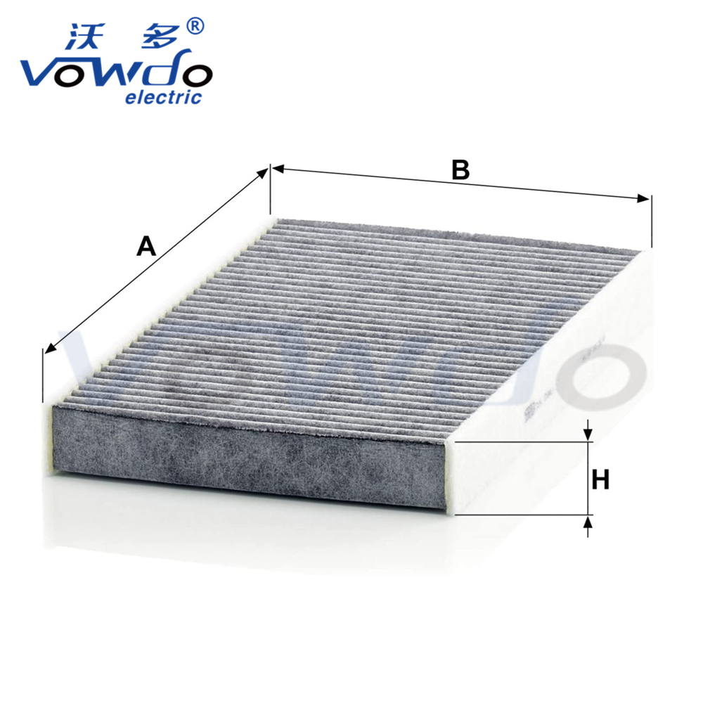 Auto parts interior Activated Carbon Car Cabin Air Filter CUK2940 6447NV 647941 E146155 6447NT 6447TL 647975 6447KK 6479C2