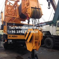 Chinese QY130k XCMG 130 ton hydraulic USED truck crane with cheap price