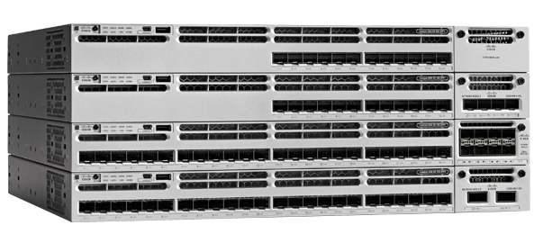 Catalyst 3850 24 WS-C3850-24P-S Porta LAN Base de Switch de Rede