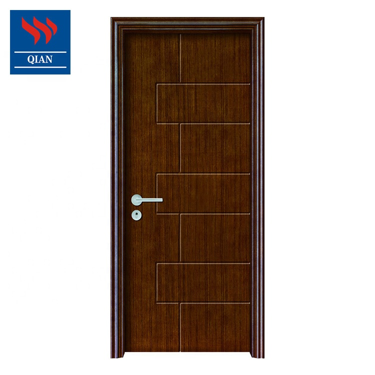 Custom interior 2 hours fire rated residential fireproof wooden door low price