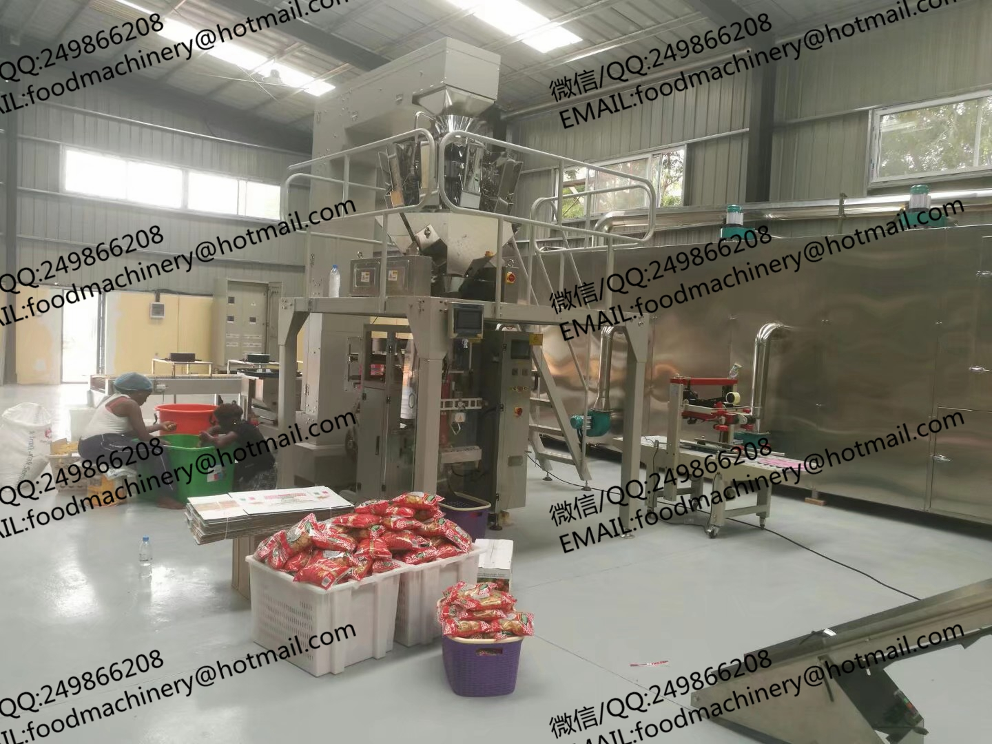 Full automatic Italian Pasta product line macaroni making machine industrial macaroni production line